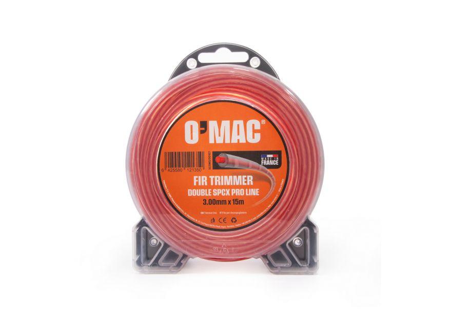 FIR TRIMMER DOUBLE SPCX PRO LINE 3.00mm x 15m O'MAC