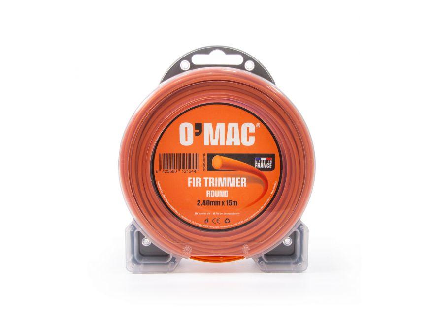 FIR TRIMMER ROUND 2.40mm x 15m O'MAC