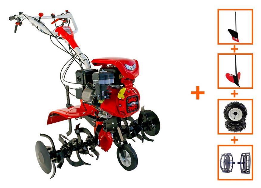 MOTOCULTOR LONCIN LC1200 (2+1) 8CP CU ROTI C. + PLUG + RARITA + ROTI M.