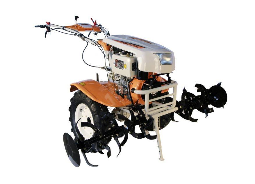 MOTOCULTOR O-MAC NEW 1350-S DIESEL 12CP CU PORNIRE+DIFERENTIAL&ROTI (6.5x12)