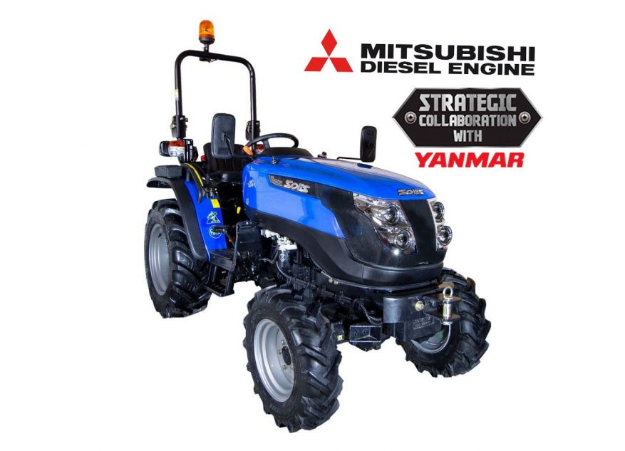 TRACTOR AGRICOL SOLIS 26 4WD - 26CP (Wider Agri)